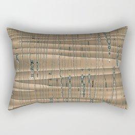 Desert Jewel Abstract Rectangular Pillow