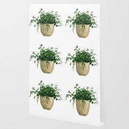 House Plant IV Wallpaper