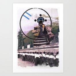 To LaLa Land Art Print