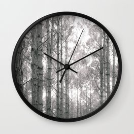 Through the Forest Sweetly Wall Clock
