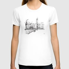 hornsey town hall, crouch end T-shirt