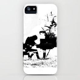 Pianist Passion iPhone Case