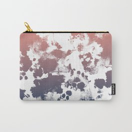 Ombre fade tie dye pastel trendy color way throwback retro palette 80s 90s style Carry-All Pouch
