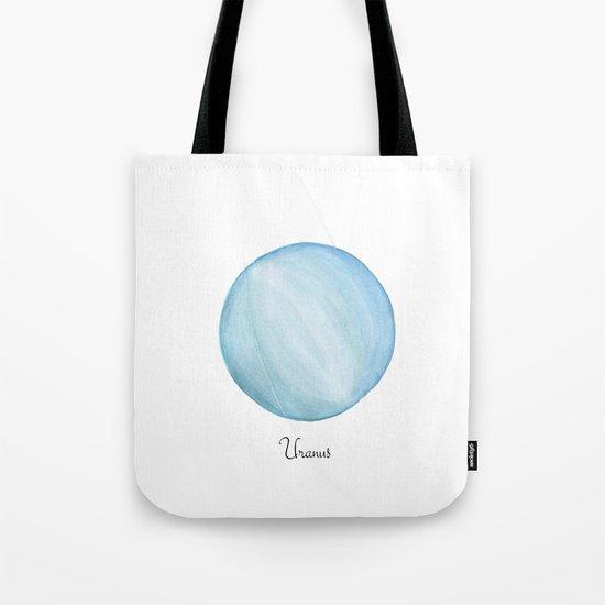 Uranus planet Tote Bag