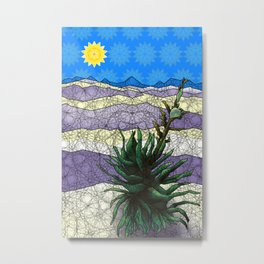 White Sands, New Mexico Metal Print