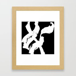AND Framed Art Print