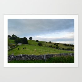 Coutryside Art Print