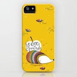 hedge f(o)und iPhone Case