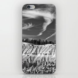 Cloudscape over Bryce Canyon iPhone Skin