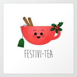Festivi-tea Art Print