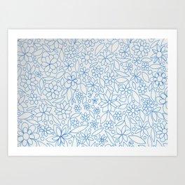 Flower Bonanza Art Print