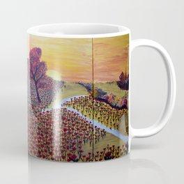 woman with flowers Coffee Mug