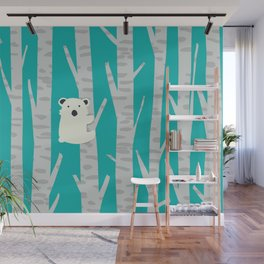 Lonesome Koala Wall Mural