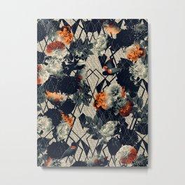 Floral GEO v.2 Metal Print