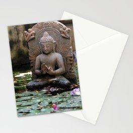 Water Buda. Stationery Cards