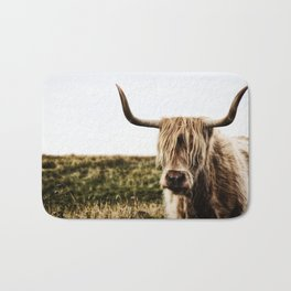 Highland Cow - color Bath Mat