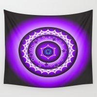 spiritual Wall Tapestries featuring Spiritual Soul by Psychic Medium Karen Nash