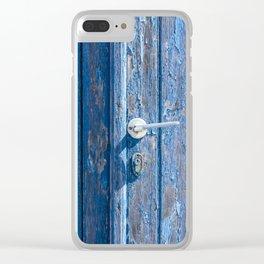 Decay Santorini Clear iPhone Case