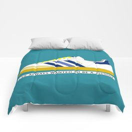 I've Always Wanted to be a Zissou - The Life Aquatic Comforters