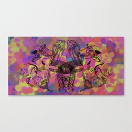 Lovely Bones : Balloons Canvas Print