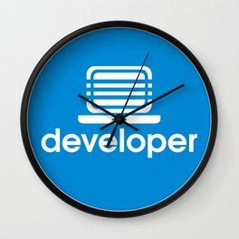 Developer Wall Clock