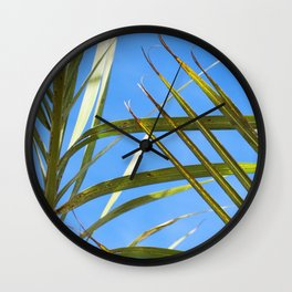 Los Angeles Foliage (Scene 3) Wall Clock