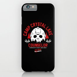 Camp Crystal Lake Counselor iPhone Case