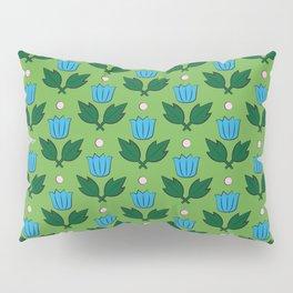 Minimal Floral Pattern Pillow Sham