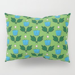 Minimal Floral Pattern Pillow Sham