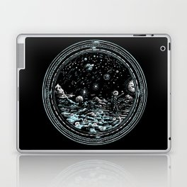 Miniature Circle Landscape 2: Astronausea.. Laptop & iPad Skin