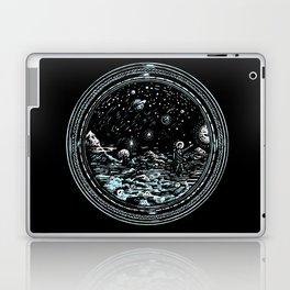 Miniature Circle Landscape 2: Astronausea.. Laptop & iPad Skin