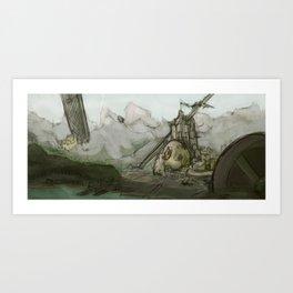 Giant's Crown Art Print