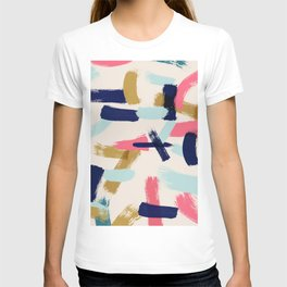 Bohemian tribal brush stroke T-shirt