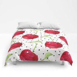 Cherry pattern II Comforters