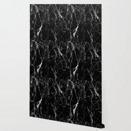 Black marble texture Wallpaper
