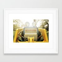 ford Framed Art Prints featuring Ford by Holly Morton