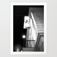 neutral milk hotel Art Prints featuring Hotel by Julia Aufschnaiter
