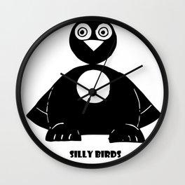 Silly Birds part2 Wall Clock