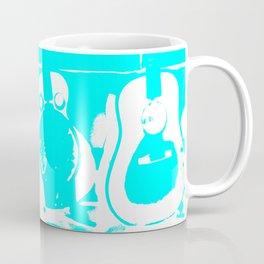 Sun Studio Guitars, Blue Coffee Mug