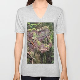 The CRY of Death - Tradewinds trail marvels on El Yunque rainforest PR Unisex V-Neck