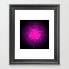 Pink Spirit Circle 2 Framed Art Print
