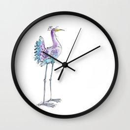 Long legged Bird Wall Clock