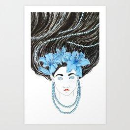 Lily Empress Art Print