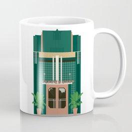 Art Deco Coffee Shop Coffee Mug