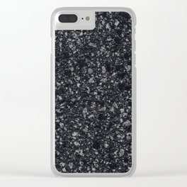 Stone Texture Surface 31 Clear iPhone Case