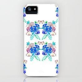 Blue Roses iPhone Case