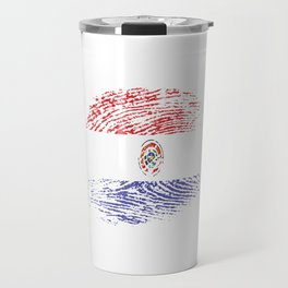 It's In My Dna Paraguay Vintage Flag Paraguayan Retro Gift Travel Mug
