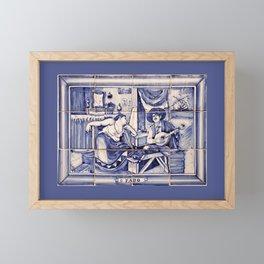 Fado de Portugal Framed Mini Art Print