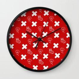 dirty louis Wall Clock