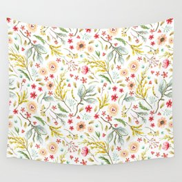 Wildflower Bunch Wall Tapestry
